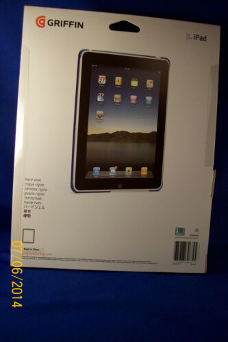 Griffin GB01616 Apple iPad Outfit Ice Hard-Shell Case Blue 1st Generation