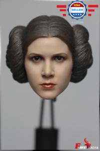 【IN STOCK】 Star Wars IV A New Hope Princess Leia 1//6 head sculpt in SUNTAN