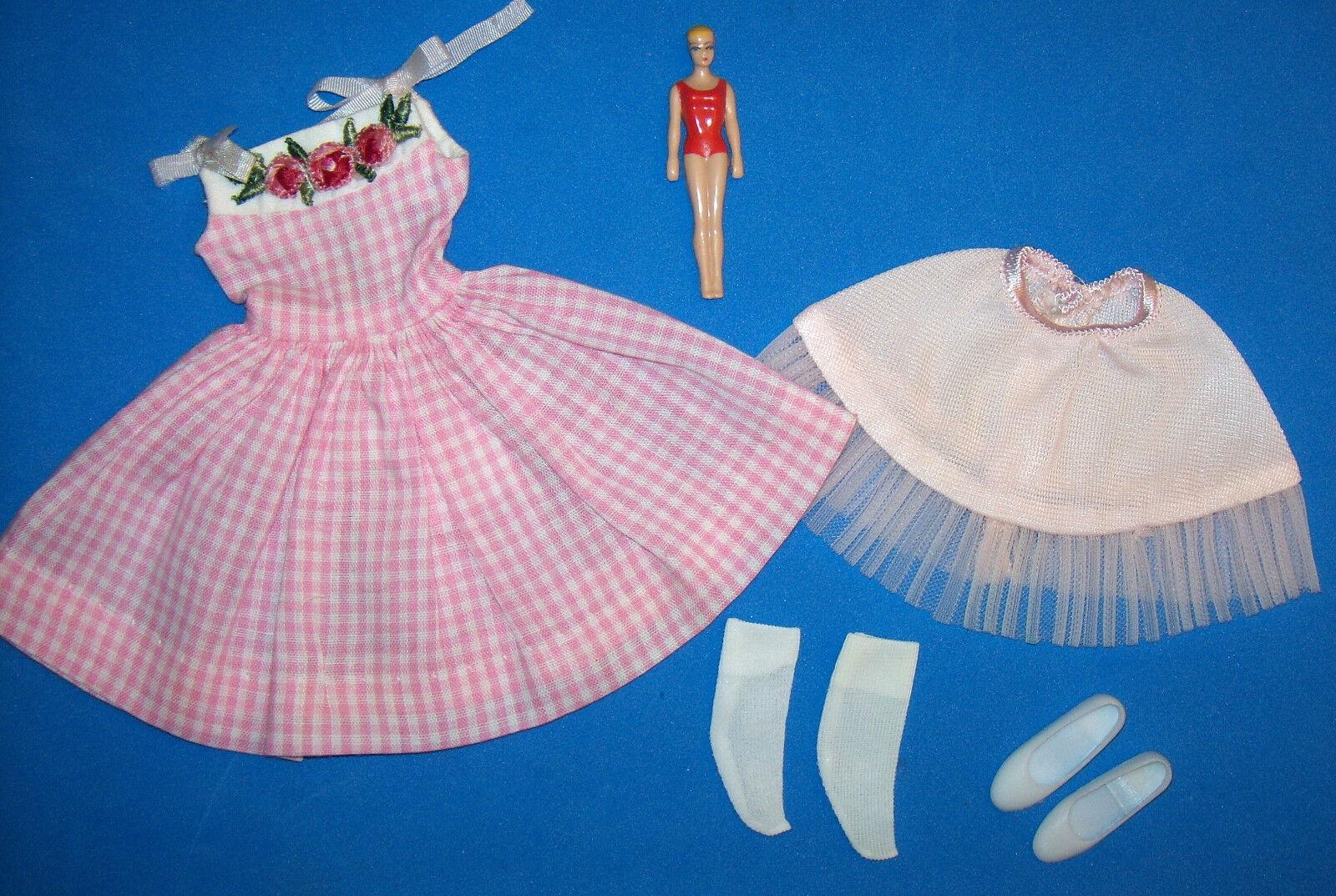 Vintage Skipper Me'n My Puppe Fast Komplett  1913 Mini Barbie 1965