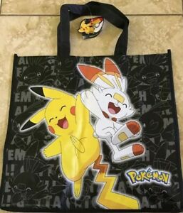 Pokemon Scorbunny Reusable Tote Bag ThinkGeek New With Tags