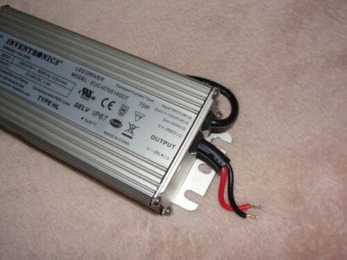 EUC Series 75 W 1.4 A 54Vdc Out Max Dimmable Outdoor Constant Current LED Driver