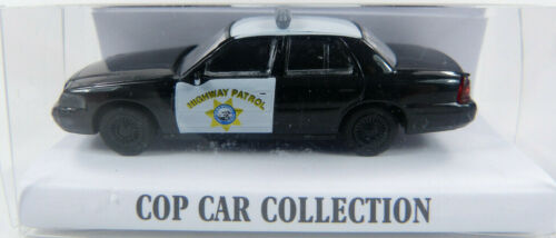 ST Ford Crown Victoria California Highway Patrol Cop Car Collection 1:87