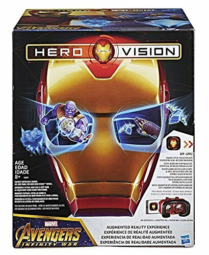 Hasbro – Hero Vision Marvel Avengers Iron Man Ar Mask