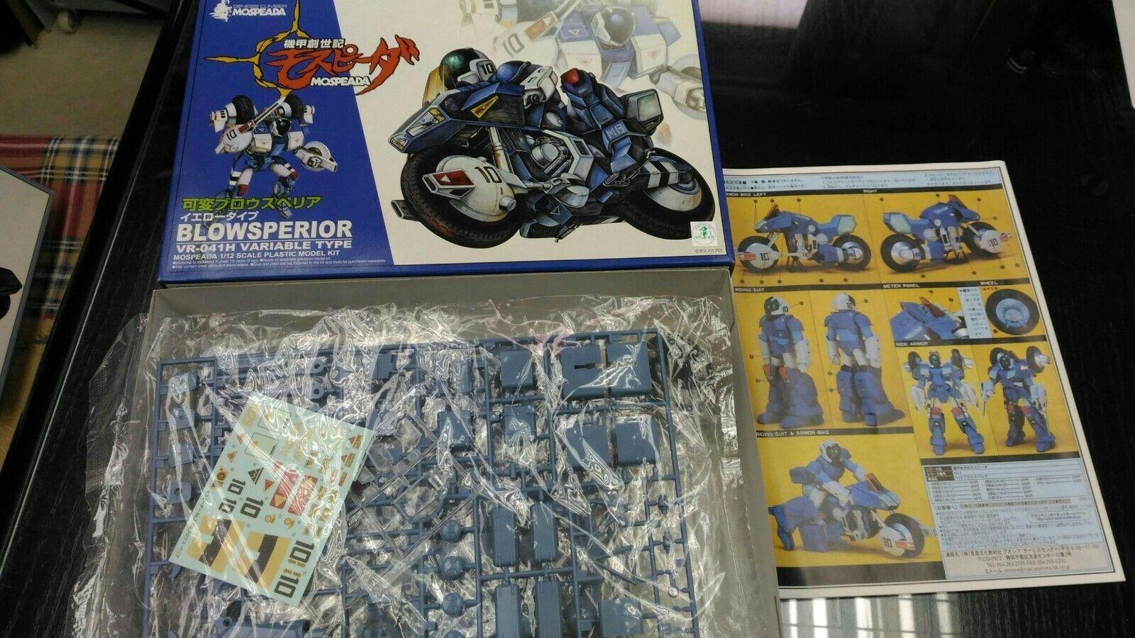 Blowsperior ROBOTECH Genesis Climber aoshima 80s RIDE ARMORtransform 1 12 bike