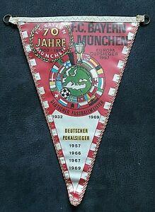 RAR-Wimpel-70-Jahre-Bayern-Muenchen-1970-Fussball-Rekordmeister-Bundesliga-FCB