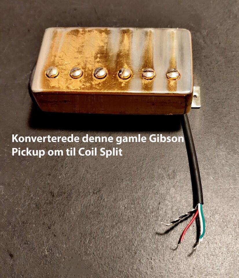 Guitar pickupper