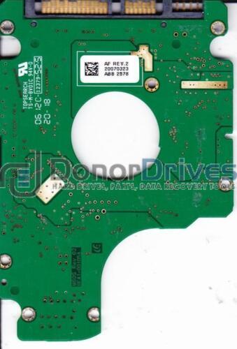 FW YF100-15 BF41-00105A Samsung 120GB SATA 2.5 PCB HM120JI HM120JI//D