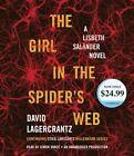 The Girl in the Spider's Web: A Lisbeth Salander Novel, Continuing Stieg Larsson's Millennium Series by David Lagercrantz (CD-Audio, 2016)