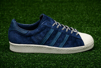 new product f4390 a49a6 Adidas Originals Superstar 80s navy blue & white sz 10.5 shoes sneaker  shelltoes   eBay