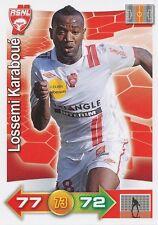 LOSSEMI KARABOUE # AS.NANCY CARD PANINI ADRENALYN 2012