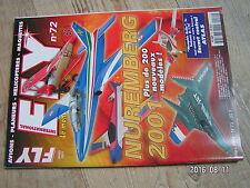 $$u Revue Fly International N°72 Plan encarte Cessna Bird Dog  AP Hornet 09