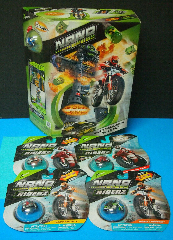 marcas de diseñadores baratos Nano Speed Moto fusión Bike-Raza-Track-Spin - Master - - - 4+ años con 4 Motos más  ofreciendo 100%