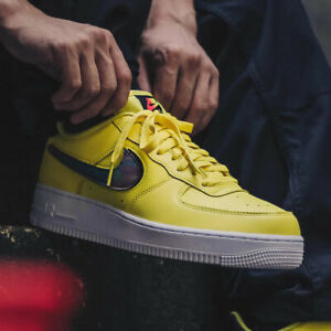 Details about NIKE AIR FORCE 1 '07 LV8 3 Yellow CI0064 700 US 8 JAPAN atmos Exclusive