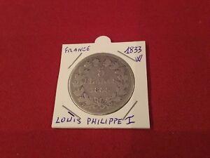 5 F En Argent Louis Philippe 1er 1833 W Tb Kpzommgy-08003004-800652931