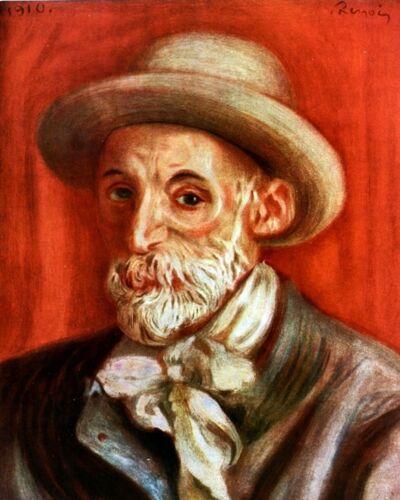 Self-Portrait of Impressionist Pierre-Auguste Renoir New Art Reprint Photo