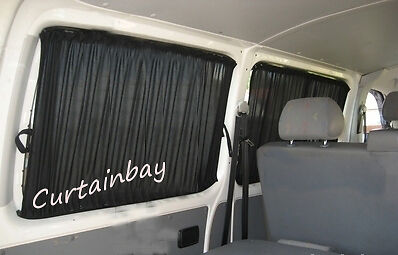 Curtains for 3 windows Mercedes Viano 639 barn doors or tailgate blinds