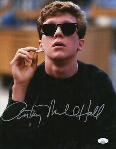 Anthony-Michael-Hall-Autograph-Signed-11x14-Photo-Breakfast-Club-JSA-COA