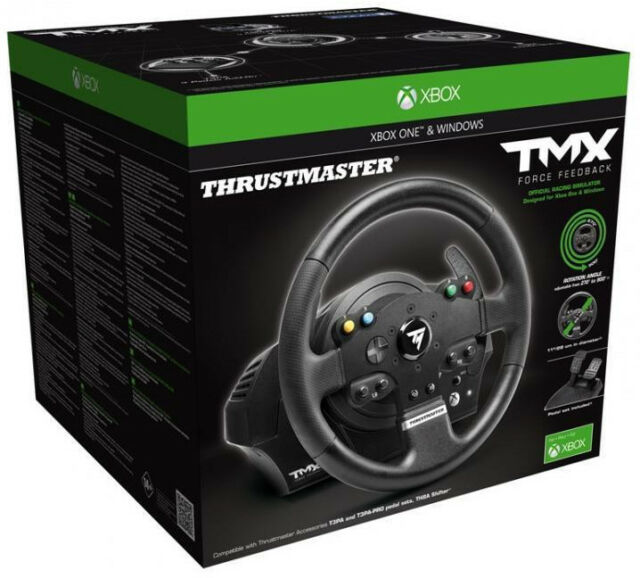 THRUSTMASTER 4468008 TMX RACING WHEEL & PEDAL SET CONTROLLER FOR PC on
