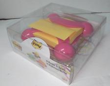 Post It Pink Pop Up Note Dispenser It Rocks It Spins Jax 330 Jp