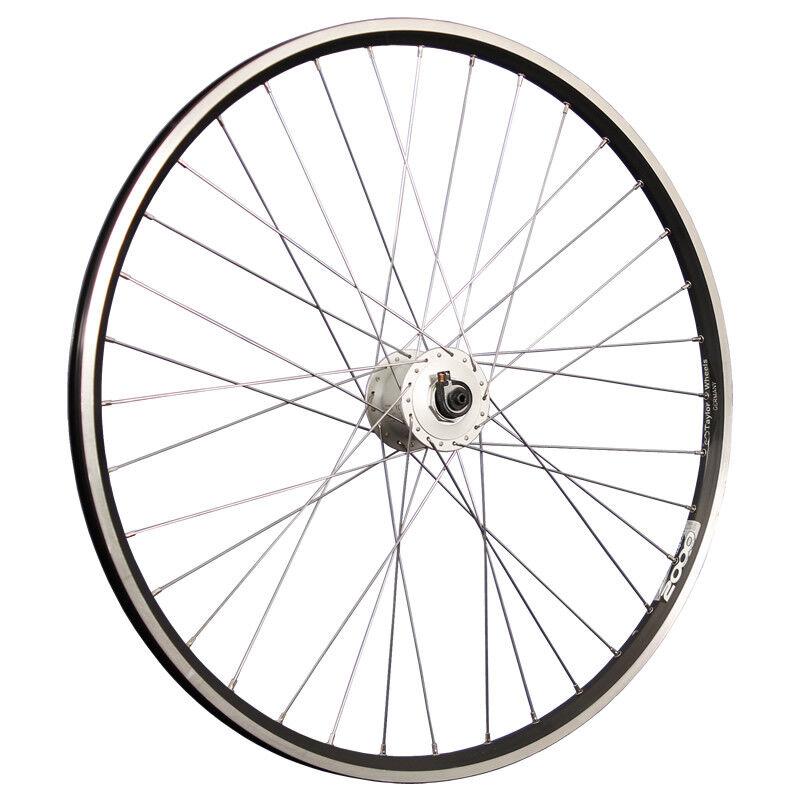 Taylor Wheels 28 Zoll Vorderrad Zac2000 Shimano Nabendynamo DH-C3000 black