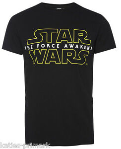 Primark Mens Official Disney Star Wars The Force Awakens T