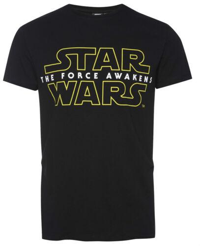 Primark pour Homme Officiel Disney Star Wars The Force éveille T SHIRT UK XS-XXL