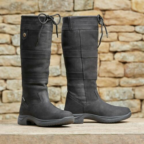 Dublin Womens River Boots Iii Country Breathable Waterproof Lightweight Leather