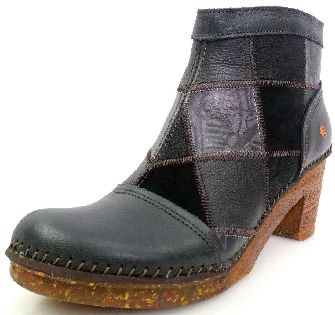 Art Memphis Gr.41 Damen Schuhe Amsterdam Kurzschaft Stiefel Stiefeletten Schwarz