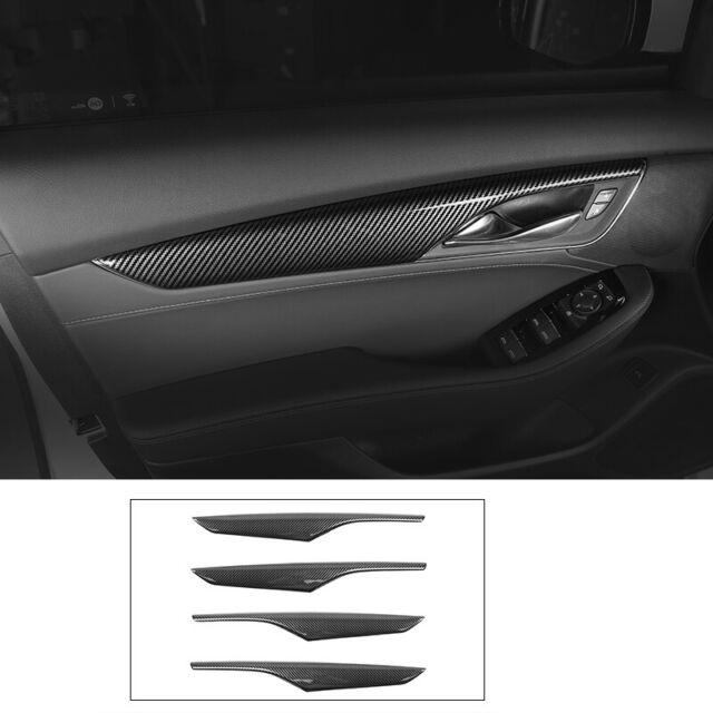 For Cadillac Ct5 2019-2020 Carbon Fiber Inner Door Handle