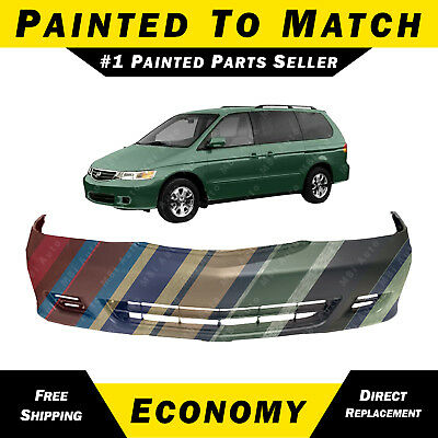 Primed Front Bumper Cover Replacement for 1999-2004 Honda Odyssey