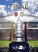 * ARSENAL v ASTON VILLA - 2015 FA CUP FINAL PROGRAMME *