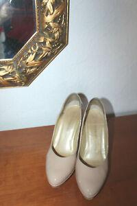 Elegante *Peter Kaiser*High Heels, Gr.38,5, Lackleder