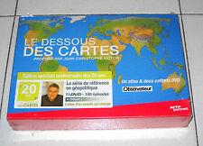 Box 11 Dvd LE DESSOUS DES CARTES Jean Christophe Victor Edition speciale 20 ans