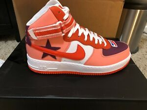 reputable site bce37 3717b Image is loading Nike-Air-Force-One-1-High-RT-Riccardo-