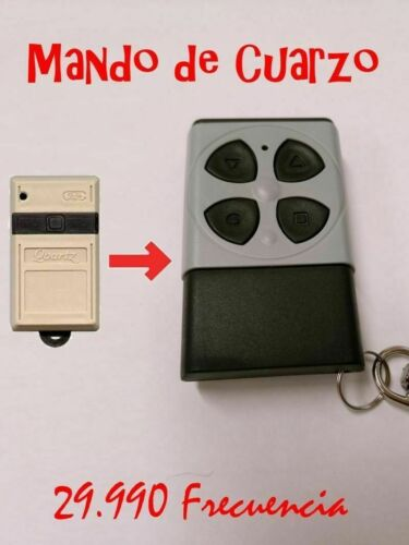 Fernbedienung Garagentor Kompatibel Clemsa Tx 1 TX2 7 Quarz Quartz 29990