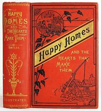 1889 ANTIQUE VICTORIAN ETIQUETTE BOOK HOME COOKING MARRIAGE SUCCESS WORK MONEY