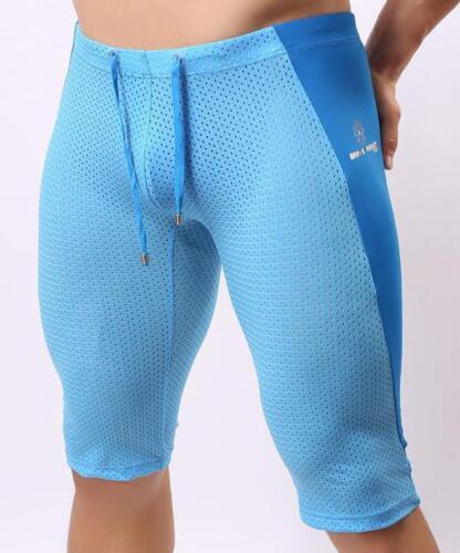 new man sport Swimwear Beach Board Wear Trunks Knee-length Tights Shorts S-XL