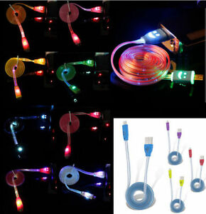 1-Meter-LED-USB-Data-Charger-Cable-Charging-Cord-for-Android-Cell-Phone-Adapter