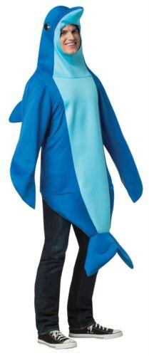 Erwachsene Delphin Marine Mammal Ozean Tier Halloween Kostüm GC6484