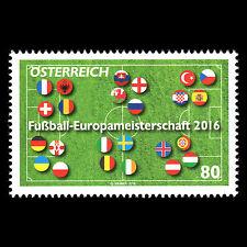 Austria 2016 - UEFA European Football Championship France Soccer - MNH