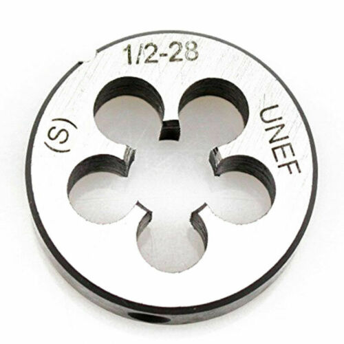 1//2-28 UNEF Tap Die Set Titanium Coated Right Hand Mechanical Tapping Tool Kit