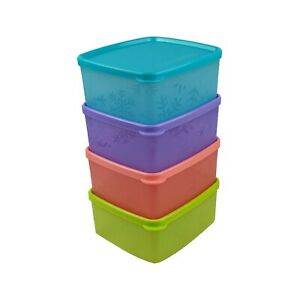 Tupperware-Snowflake-Square-Round-For-Chiller-x-4-units-Free-Shipping