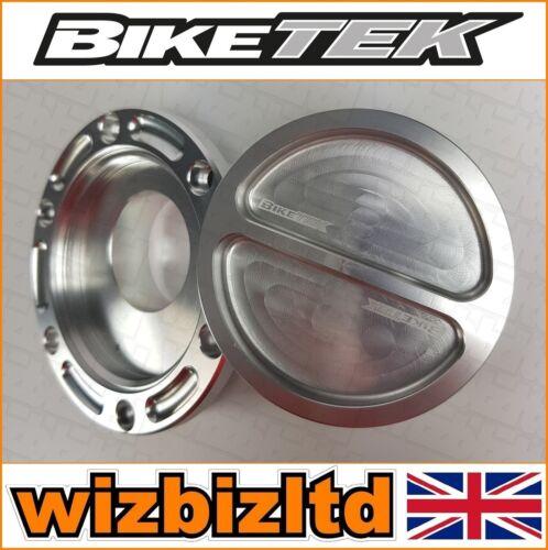 Biketek Silver Keyless Screw Fuel Cap Triumph Daytona 955i 1999-2006 FFCA01