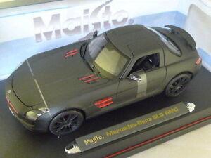 1-18-Maisto-Mercedes-SLS-AMG-GULLWING-Mate-Negro