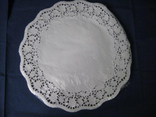 weiß Tortenspitzen 100 Stück Durchmesser: 36 cm