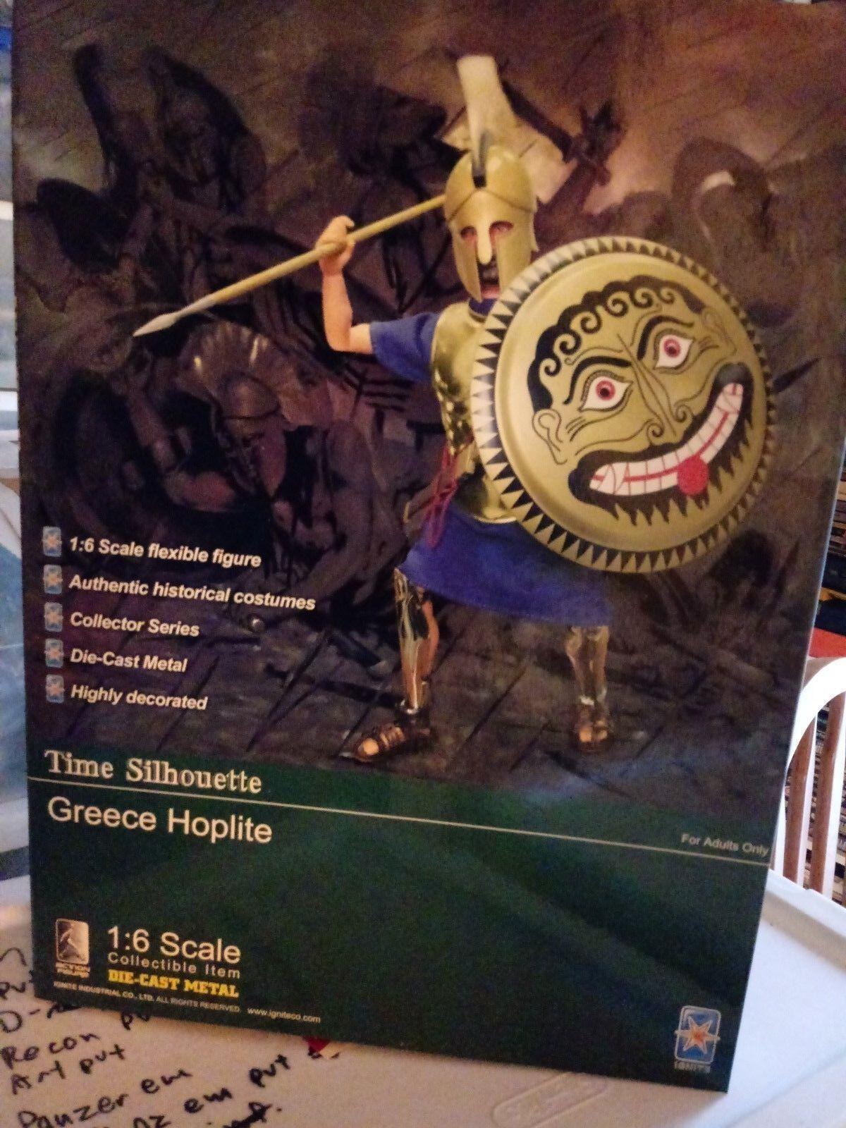 Greek Hoplite 1 1 6 scale Ignite