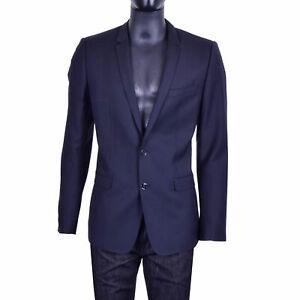 DOLCE-amp-GABBANA-RUNWAY-GOLD-Silk-Wool-Blazer-Tuxedo-Jacket-Black-07405
