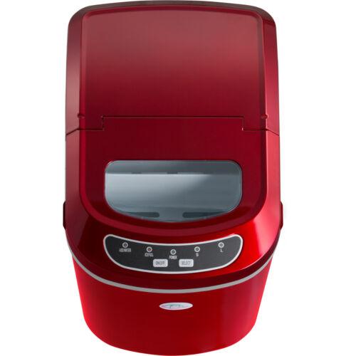 Professionnelle machine à glaçons appareil de préparation de glace rouge neuf