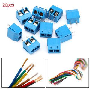 20PCS-KF301-5-2P-Pitch-5mm-Straight-Pin-PCB-2-Pin-Screw-Terminal-Block-Connector
