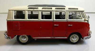 Colore: Rosso//Bianco /VW Van Samba 31956/W//R Maisto/